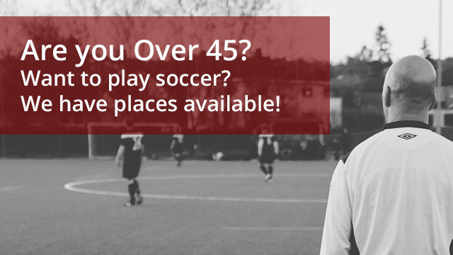 Over 45s Soccer Central Coast
